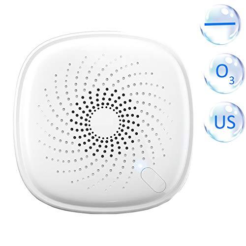 Ajcoflt 2-em-1 Plug-in Mini Ionizador Purificador de ar Gerador de ozônio Desodorizador Portátil Purificador de ar Eliminador de odor para quartos Fumaça e animais de estimação EUA Plug