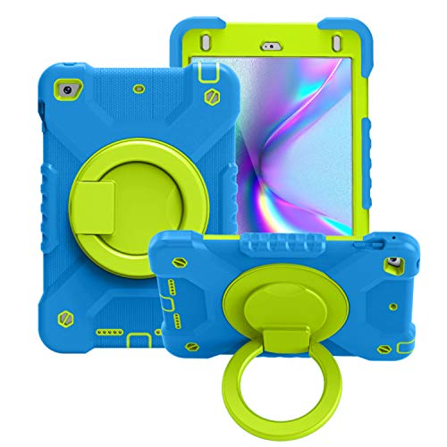 ZHIWEI Tablet PC Bolsas Bandolera Tablet Funda para iPad Mini4 / 5, Niños Durable Tapa Protectora a Prueba de Golpes, con Soporte de Mango Plegable, Soporte Giratorio, Correa de Hombro Que Lleva