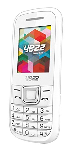 Yezz Yezz Bar Phone C21A Teléfono Móvil, Dual SIM, Color Blanco [Italia]