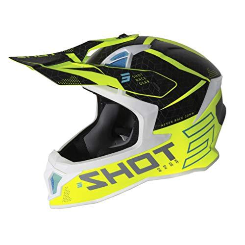 Shot Lite Core Casco Motocross Giallo fluo M (57/58)