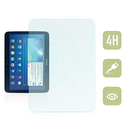 Kristallklare Folie zum Displayschutz für Samsung Galaxy Tab 3 10.1 [passend für Modell GT-P5200, GT-P5210, GT-P5220]