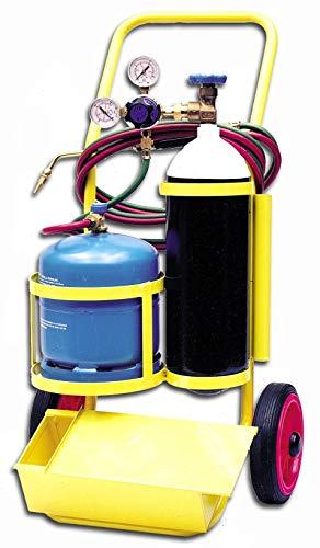 STS-FGR-750C Equipo portátil para soldadura autógena Oxígeno Butano con cajón para herramientas