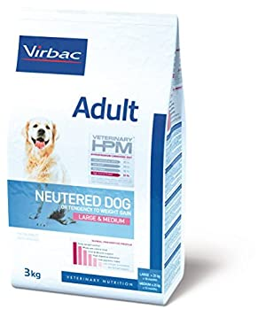 Virbac Veterinary HPM Vet Dog Ad Neutered M/L Nourriture pour Chien 12 kg