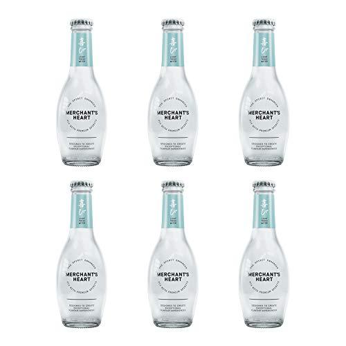 Merchant hart licht Tonic water 200ml glazen fles – Pack van 6