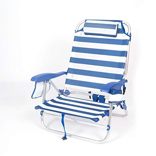 CREVICOSTA QUALITY MARK MARCAS DE CALIDAD 2108-SILLA Playera Tela. Azul Y Blanco.