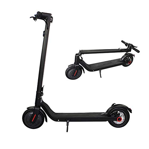 H-CAR QW Scooter electrico, Patinete electrico Adulto, Velocidad Máx 30 km/h, 250...