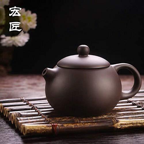 GBCJ Accesorios para Juegos de té Tetera de Mineral Original Xishi Kungfu Tetera Oficina hogar Tetera-Original Mine Zisha Xishi Pot Juego de té