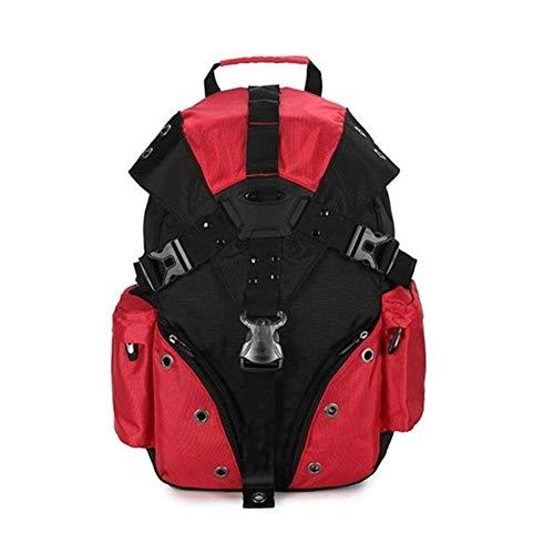 Ssszx Swiss Military Army - Mochila grande para portátil (15,6 pulgadas, multifuncional, 17,3 pulgadas, tamaño XL, para equipaje de mano, Red (Rojo) - Ssszx5496o