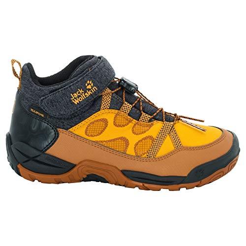 Jack Wolfskin Boys & Girls Jungle Gym Texapore Mid Walking Boots