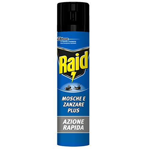 Raid Moscas Mosquitos & Insecticida Spray–400ml
