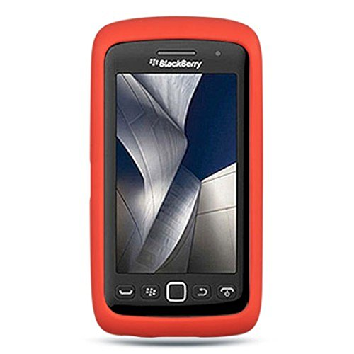 BlackBerry 9570 (Storm 3) Gel Skin Case Cover - Red [Wireless Phone Accessory]