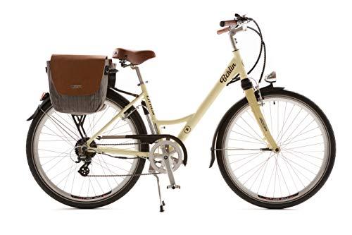 Littium Bicicleta eléctrica Berlin Classic Cream, Adultos Unisex, Crema, Estandar