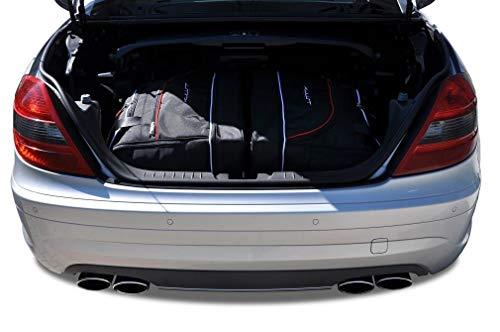 KJUST Reisetaschen 2 STK Set kompatibel mit Mercedes-Benz SLK R171 2004 - 2011