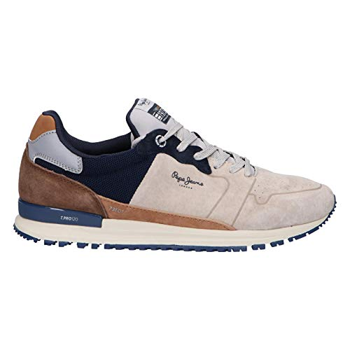 Pepe Jeans Sportschuhe für Herren PMS30619 Tinker PRO RACERLAND 945 Grey Schuhgröße 42 EU
