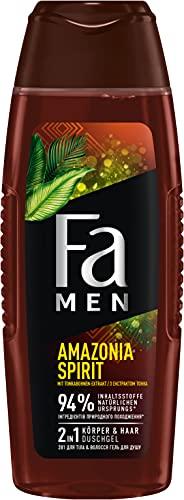 Fa Men 2in1 Körper & Haar Duschgel Amazonia Spirit mit würzig-frischem Duft, 250 ml