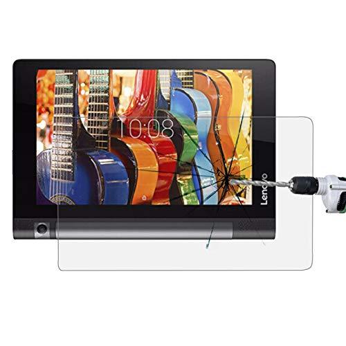 HUANGPUJIAN Fundas de teléfono para Lenovo YOGA Tab 3 de 10 pulgadas / YT3-X50F 0,3 mm 9H dureza película de pantalla de vidrio templado