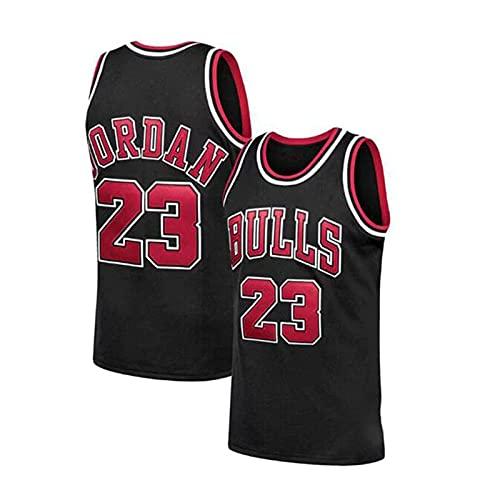 GFQTTY Camisetas De Baloncesto, NBA Chicago Bulls # 23 Camiseta Clásica Bordada Retro Cómoda, Ligera, Transpirable, Swingman Jerseys