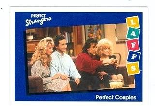 Perfect Strangers trading card 1991 Impel Laffs #78 Jennifer, Mary Ann, Balki, and Larry