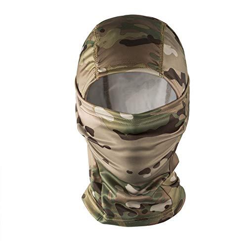 onetigris Sturmhaube/Maske/Balaclava Militärische Taktik von Schutz komplett für Airsoft Radfahren Motorrad, camouflage, la taille unique