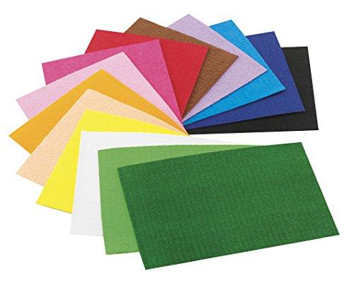 Faibo 944490 - Pack de 10 hojas gomas Eva, 20 x 30 mm, multicolor 🔥