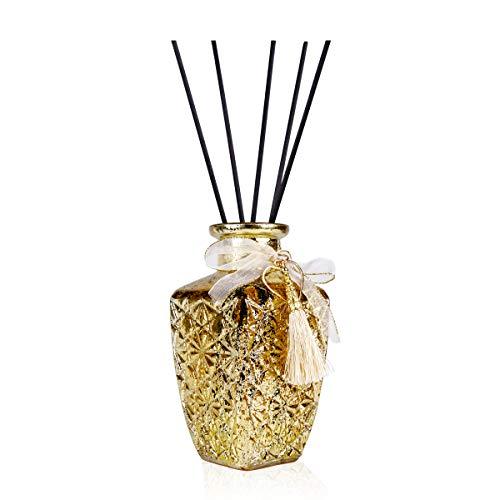Zansibar Romantic Vintage luchtverfrisser, glazen fles, goud, 240 ml