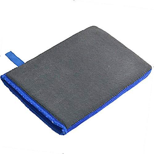 Barre d'argile Clay Bar - Clay Bar Chiffon descontaminante - Chiffon de Nettoyage en Microfibre Tissu - Car Auto Lavage Clay Mitt Surface Décontamination Gant Serviette pour Voitures Auto Auto Care