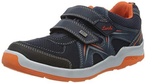 Lurchi Jungen Matthias-TEX Sneaker, Blau (Navy 22), 32 EU