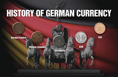 IMPACTO COLECCIONABLES Deutschland, 5 Original-Münzen - Der Pfennig im Spiegel der Deutschen Geschichte