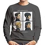 Cloud City 7 Final Fantasy Brotherhood Days Men's Sweatshirt