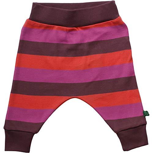 Fred'S World By Green Cotton Multi Stripe Pants Pantalon, Violet (Plum Purple 019231101), 62 Bébé Fille