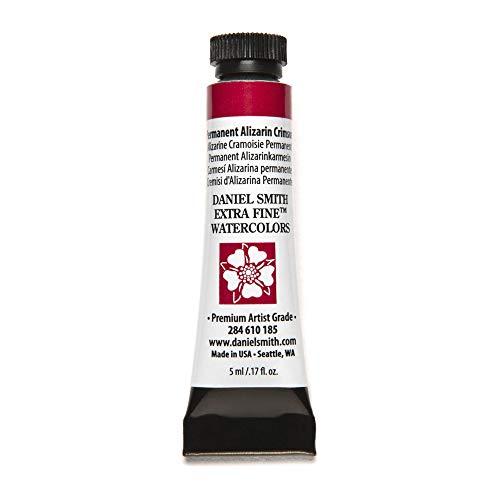 DANIEL SMITH Extra Fine Watercolor Paint, 5ml Tube, Permanent Alizarin Crimson, 284610185