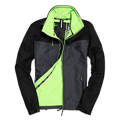 Superdry Track Herren Men Jacke Jacket Sweatshirt Windtrekker Slim FIT (XXL)