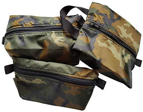 DEMARPA 3 Organizer Set, Packtasche für Rucksack, Pouch Packbeutel, Flachbeutel, Stuffsack Aufbewahrungstasche, Packwürfel (Set - 3)