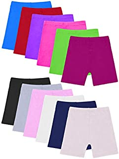 Resinta 12 Pack Dance Shorts Girls Bike Short Breathable and Safety