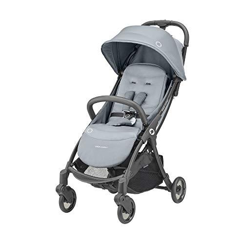 Bébé Confort Jaya, kompakter und leichter Kinderwagen, mit automatischer Faltung, von Geburt bis 4 Jahre (bis 22 kg) Essential Grey
