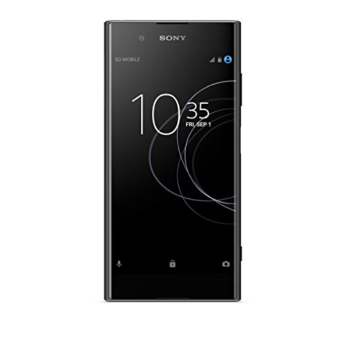 Sony Xperia XA1 Plus Smartphone da 32 GB, Nero  versione Italia]