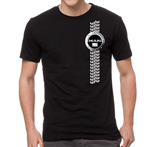 Man LKW Logo Auto Fun T-Shirt -755 (M)