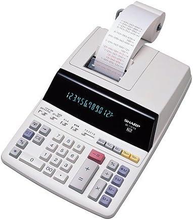 $101 Get Sharp EL-1197PIII Heavy Duty Color Printing Calculator with Clock and Calendar.
