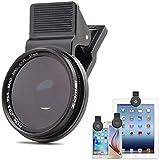 Prodrocam Lentilles de polarisation circulaires professionnelles CPL 37 mm Filtre clip pour iPhone 6S Plus 7 Téléphone portable Samsung Galaxy S8 Android Smartphones