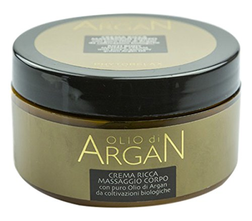 Phytorelax Olio di Argan Rich Body Massage Cream With Pure Argan Oil 10.08 Oz. From Italy by Harbor