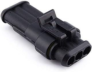 Qiilu Neue Wasserdichte Elektrische Draht Stecker 1 2 3 4 5 6 Way Pin für Auto Lkw