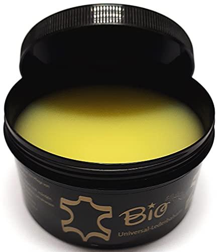 BIO Crema Speciale per Prodotti in Pelle - Balsamo per Cuoio - Trattamento Naturale Incolore - con Cera d' api, 250 ml