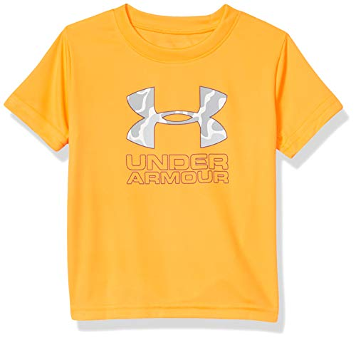 Under Armour Boys' Toddler Fashion Ss Tee Shirt, Orangeark-SP202, 4T