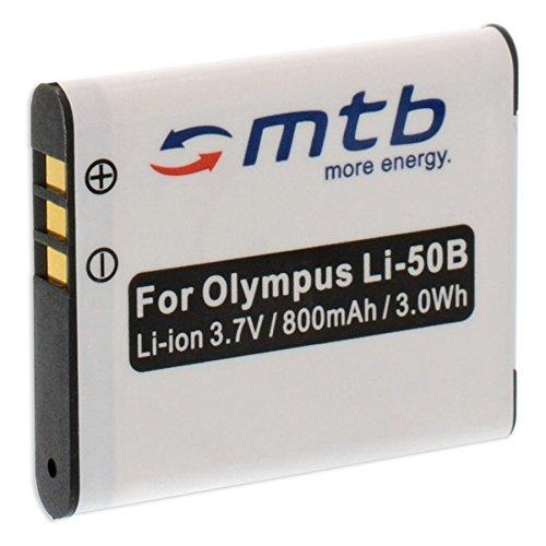 Batteria Li-50b per Olympus VH-510, VH-520, VR-340, VR-350, VR-360, XZ-1, XZ-10