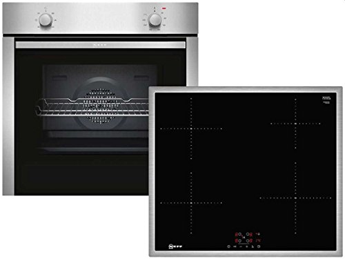 Neff XB16I Set Einbau-Backofen BCA1502 + Induktionskochfeld TBB3640N Herd Küche