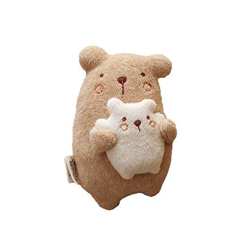 オーガニックコットン 日本製 ベビーラトル にぎにぎ人形 ママ抱っこ Amorosa mamma アモローサマンマ