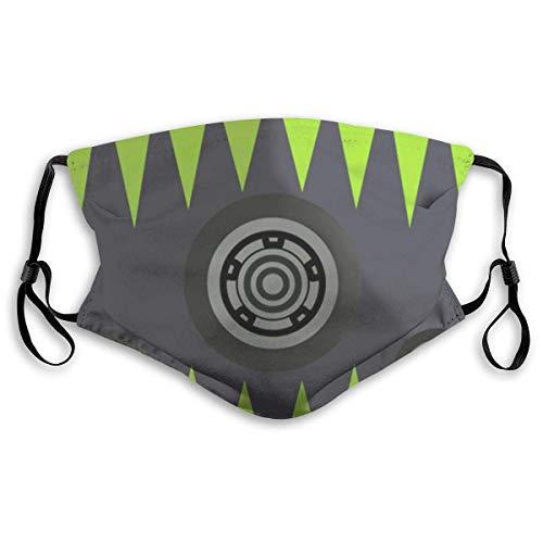 Octane Apex Legends Washable Reusable Face Bandanas Balaclava Mask with Adjustable Elastic Strap