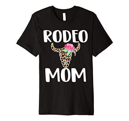 Rodeo mom shirt Cute bull rider's mom Rodeo Gift Tshirt
