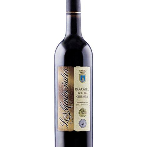 Los Madroñales Moscatel Especial Oscuro Chipiona Botella 75 cl