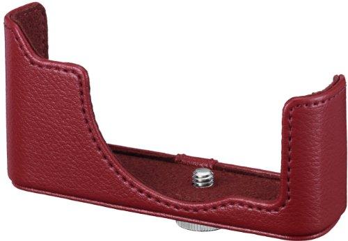 Nikon CB-N2200 lederen behuizing tas voor systeemcamera serie 1 J3/1 S1, rood